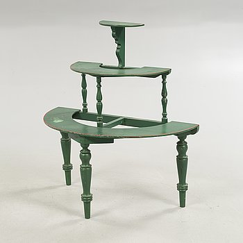 A 20th century plant stand.