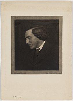 HENRY B. GOODWIN, handtryckt fotogravyr, signerad Henry Buegel Goodwin med blyerts.