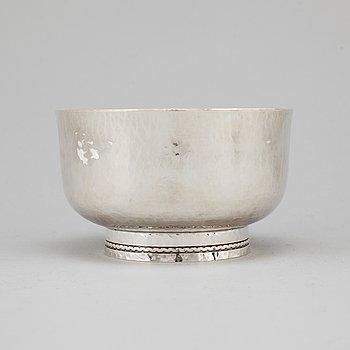 "An Inger Råström ""Sofiero"" silver bowl, GAB, Eskilstuna 2004."
