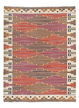 """210. Märta Måås-Fjetterström, A CARPET, """"Bruna heden"""", flat weave, ca 260,5 x 196,5 cm, signed AB MMF."""