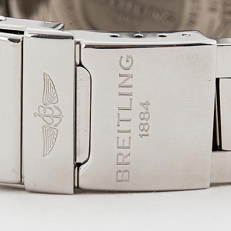 Breitling, avenger ii, chronometre, chronograph, wristwatch, 43 mm
