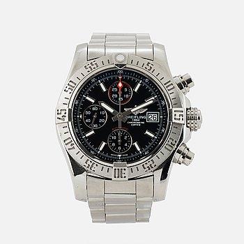 BREITLING, Avenger II, Chronometre, chronograph, wristwatch, 43 mm.