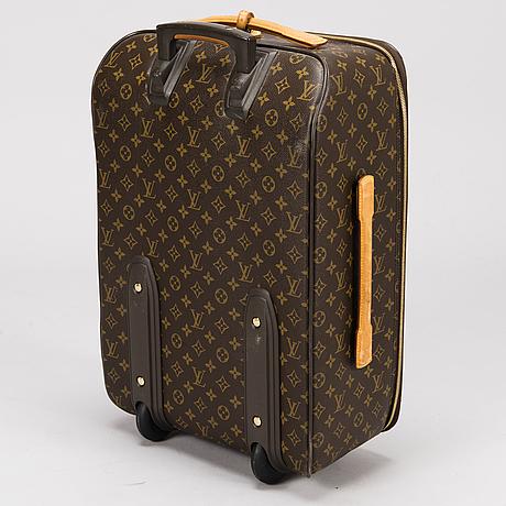 e1befedf7 LOUIS VUITTON Monogram Canvas Pégase 55 Suitcase. - Bukowskis