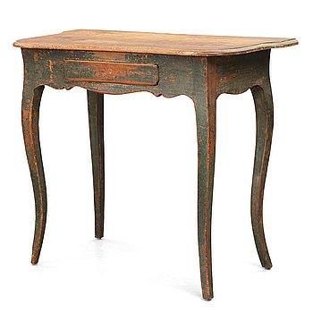 72. A Swedish Rococo 18th century side table.