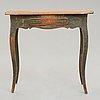 A swedish rococo 18th century side table.