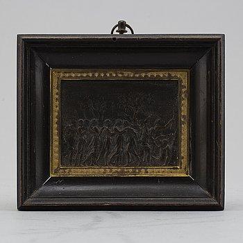 RELIEF, brons, empire, 1800-talets första hälft.