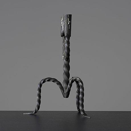 A swedish 19th/20th century two-light candelabra.