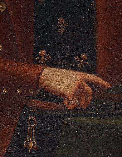 OkÄnd konstnÄr, tidigt 1800 tal. porträtt av proberare och hans maka