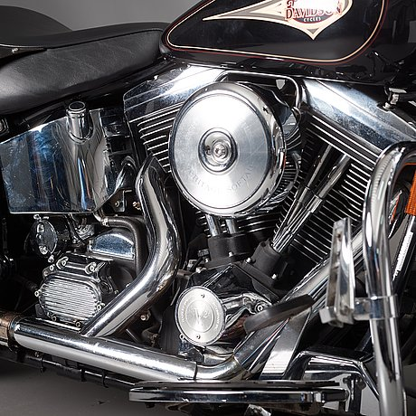 Harley davidson flstc heritage softail classic, årsmodell 1997