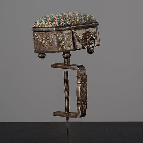 A tula needle table clamp, early 19th century.