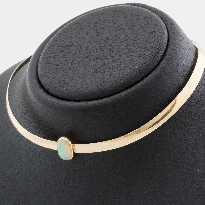 Contemporary Jewellery Modern Rigid Necklace Contemporary Necklace