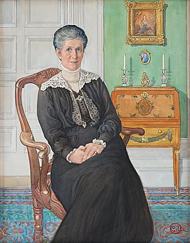509. Carl Larsson, Mrs. Esther Tigerschiöld, née Neijber.