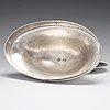 An austrian 19th century silver serving dish and cover, mark of aloys würth, vienna c. 1820