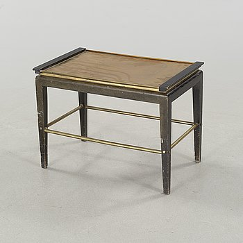 A tray table from the first half of the 20th century by Ystad Brons.
