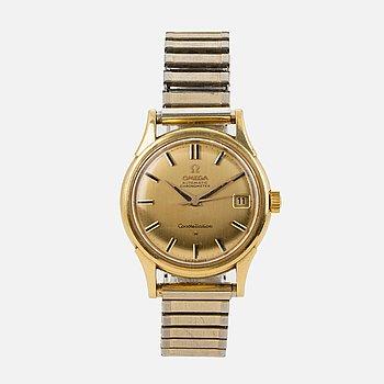 OMEGA, Constellation, Calendar, Chronometer, wristwatch, 34,5 mm.