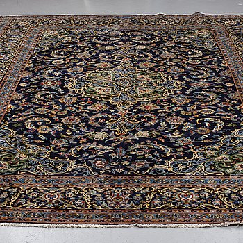 A CARPET, Kashan, around 398 x 302 cm.