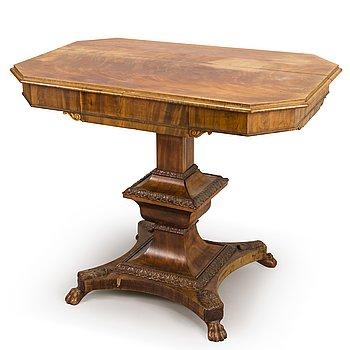 10. A BIEDERMEIER TABLE, 19th Century.