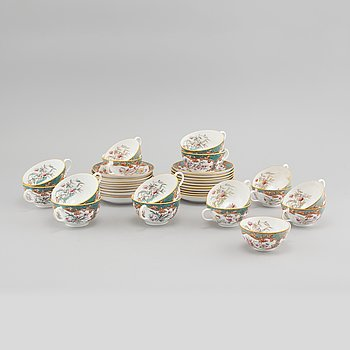 A 20 piece Rörstrand porcelain service, first half of the 20th Century.