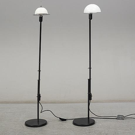 """Per sundstedt, golvlampor, ett par, """"bill"""", zero interiör, omkring 2000"""