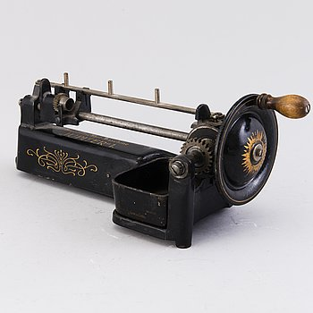 "PENNVÄSSARE, Bleistftschärf-Maschine, ""Jupiter"" 1, Tyskland tidigt 1900-tal."
