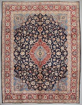 A Kashmar rug, 389 x 300 cm.