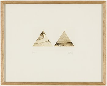 ROMAN SCHEIDL, etching, signed and numbered 13/40.