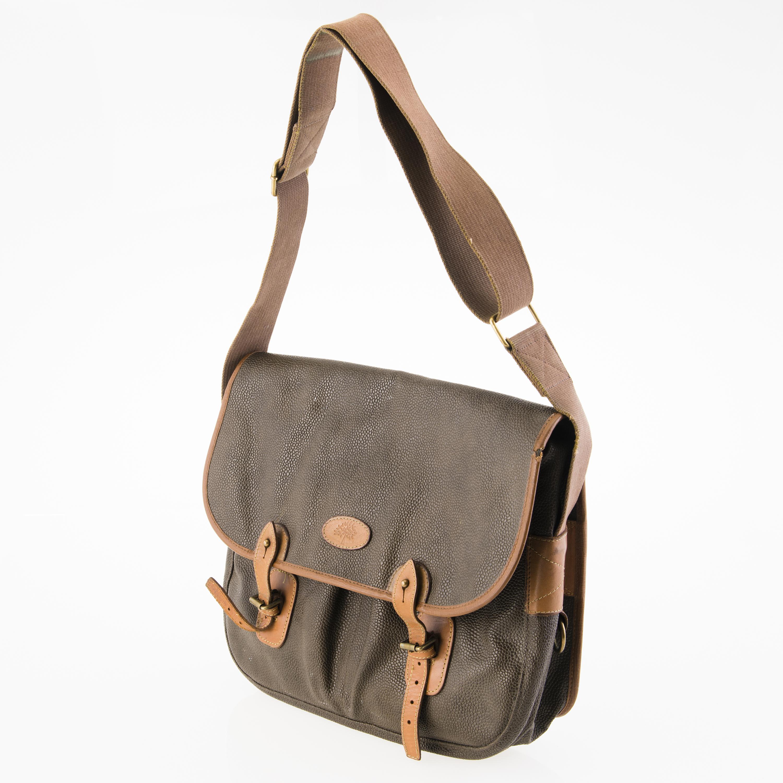 MULBERRY Vintage Scotchgrain Trout Satchel Bag. Shoulder ... d662031734a65