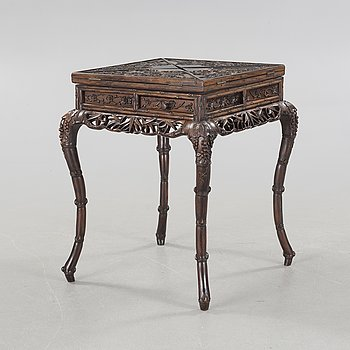 SPELBORD, hardwood, sen Qingdynasti (1644-1912).