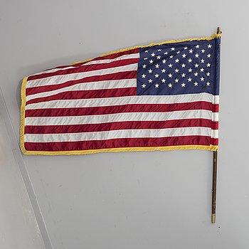 FLAGGA, USA, efter 1959, på stång.