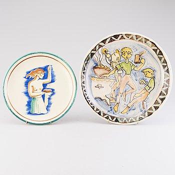 FAT, 2 st, keramik, Kupittaan Savi, 1900-talets mitt.