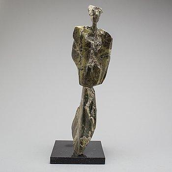 MICHAEL PIPER, skulptur, marmor, signerad med initialer.