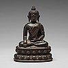 Shakyamundi buddha, brons. tibet, 1600 tal
