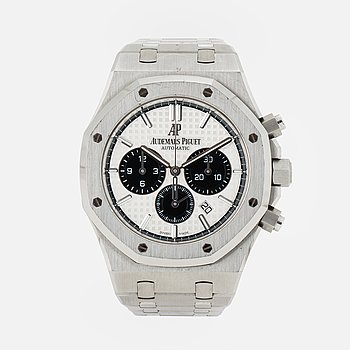 AUDEMARS PIGUET, Royal Oak, chronograph, wristwatch, 41 mm,