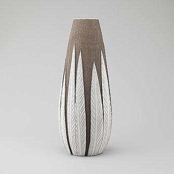"""ANNA-LISA THOMSON, vas, lergods, """"Paprika"""", Upsala Ekeby, 1900-talets tredje kvartal."""
