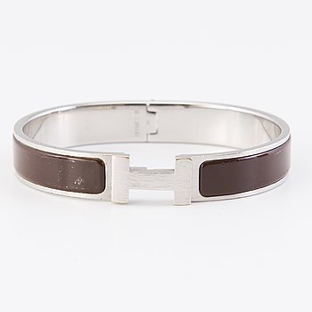 HERMÈS, 'Clic Clac H' bracelet.