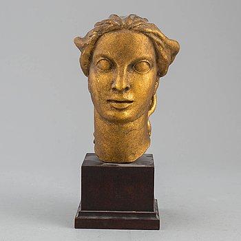 IVAR JOHNSSON, skulptur, gips, osignerad.
