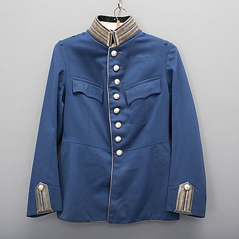 A Swedish uniform jacket for a cavalry officer 1895 pattern.
