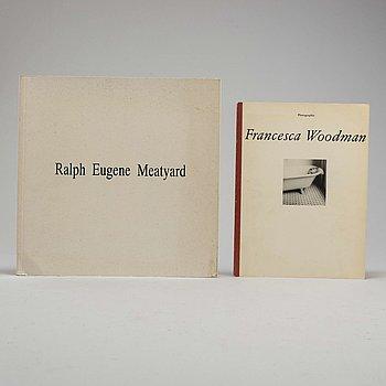 FOTOBÖCKER, 2 st, Francesca Woodman, Ralph Eugene Meatyard.