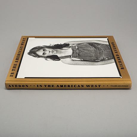 "Photobook, richard avedon, ""in the american west"""