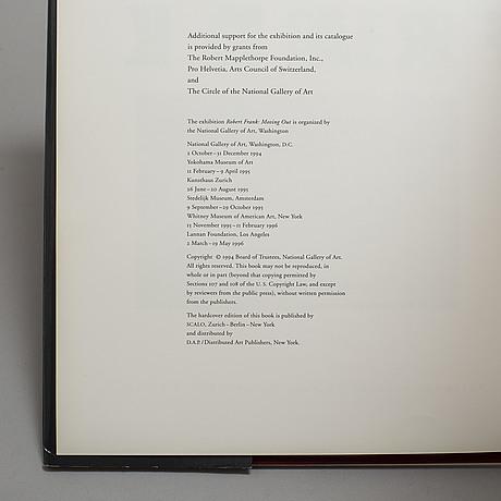 Photobooks, 3, robert frank