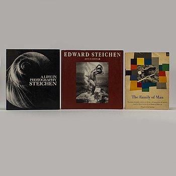 FOTOBÖCKER, 3 st, Edward Steichen.