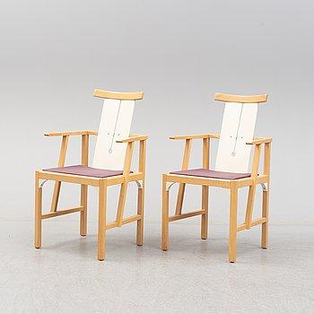 TURE LISS & LARS MOSSBERG, stolar, ett par, modell Corner, 2000-tal.