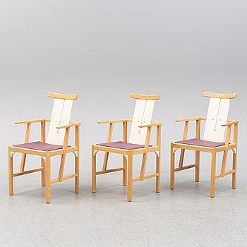 TURE LISS & LARS MOSSBERG, stolar, 3 st, modell Corner, 2000-tal.