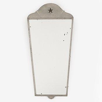 A 1930's Art Déco mirror.