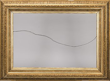 A GILT FRAME, late 19th century.