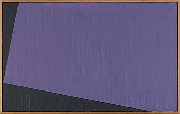 SVEN HANSSON, oil on canvas, signed, and dated 1982 à tergo.