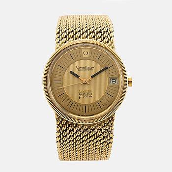 OMEGA, Constellation, Chronometer, Electronic (f 300 Hz), armbandsur, 35 mm,