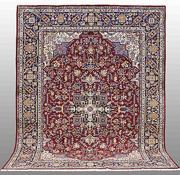 A carpet, Najafabad, around 332 x 247 cm.