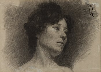 295. Woldemar Toppelius, PARISIAN GIRL.