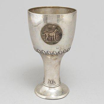 CG HALLBERG, pokal, silver. Stockholm 1927.